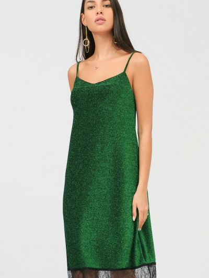 Зеленое платье Lussotico