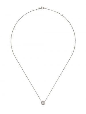 Biały złoty naszyjnik z diamentem Georg Jensen