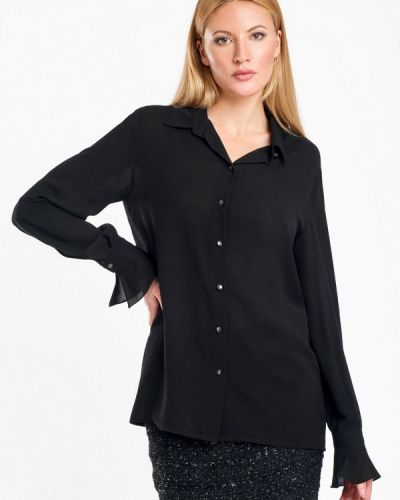 Блузка осенняя черная Swank