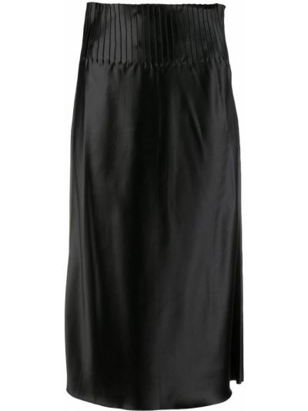 Плиссированная юбка - черная Bevza