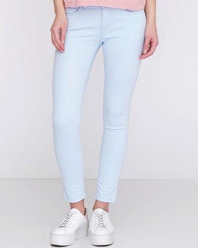 Голубые брюки осенние Lagrand