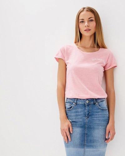 Розовая футболка Blendshe
