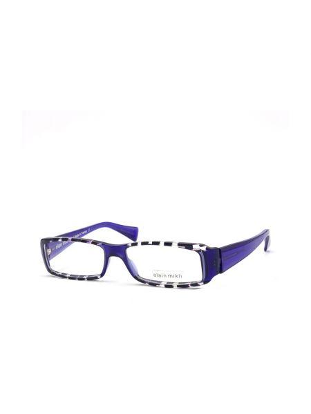 Fioletowe okulary Alain Mikli