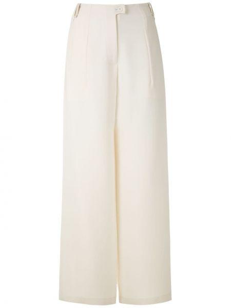 Свободные брюки со складками свободного кроя на пуговицах с высокой посадкой Gloria Coelho