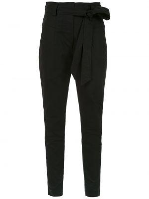 Укороченные брюки - черные Martha Medeiros