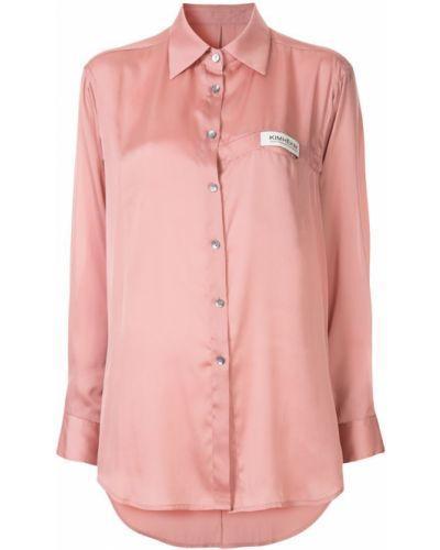 Рубашка с длинным рукавом классическая оверсайз Kimhekim