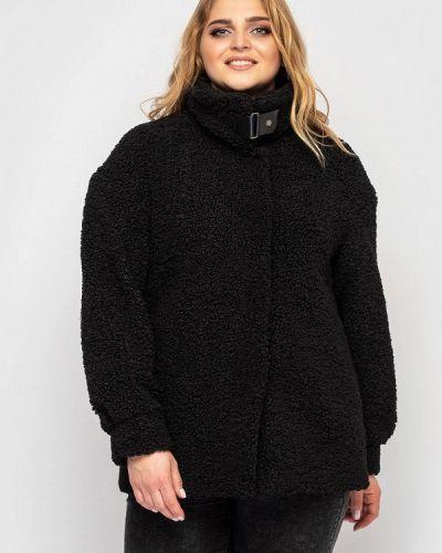 Черное пальто Vlavi