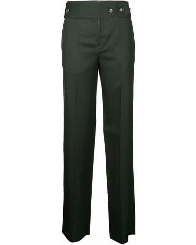 Spodnie - zielone Victoria Beckham