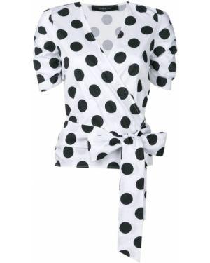 Блузка с запахом с V-образным вырезом Federica Tosi