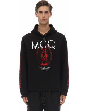 Bluza z kapturem z kapturem na gumce Mcq Alexander Mcqueen