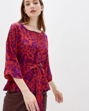 Блузка с длинным рукавом красная Adl