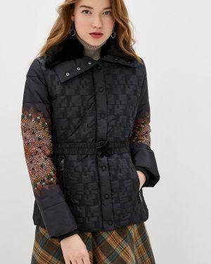 Утепленная куртка демисезонная осенняя Desigual