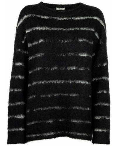 Sweter wełniany - biały Saint Laurent