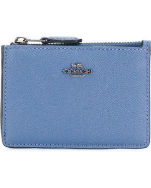 Синий кошелек Coach