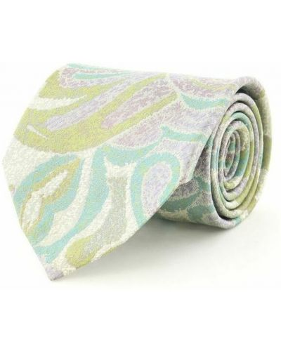 Krawat z jedwabiu - różowy Balenciaga Vintage