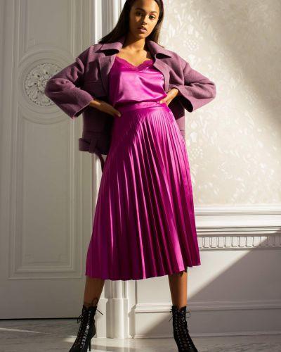 Fioletowy spódnica midi Orsay