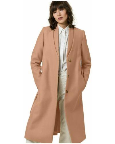 Brązowy płaszcz Ivy & Oak