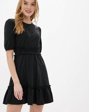 Платье футболка осеннее Miss Selfridge