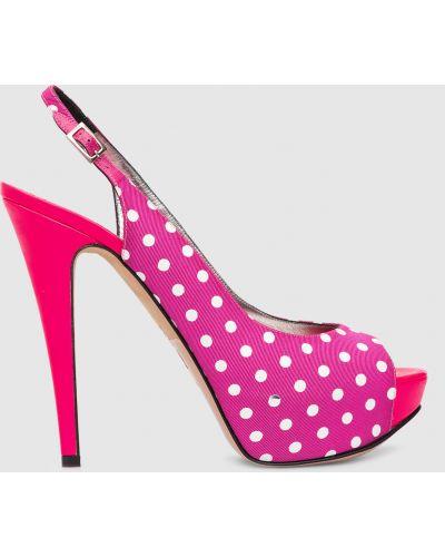 Босоножки - розовые Gina