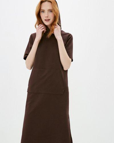 Платье - коричневое Vivostyle