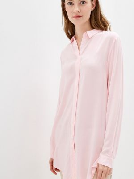 Блузка с длинным рукавом розовая весенний Q/s Designed By