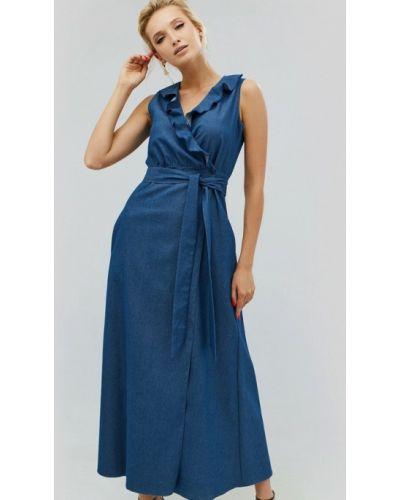 Джинсовое платье повседневное весеннее Cardo
