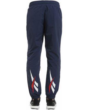 Спортивные брюки с карманами нейлоновые Reebok Classics