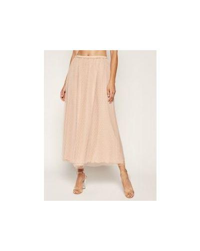 Różowa spódnica maxi Red Valentino