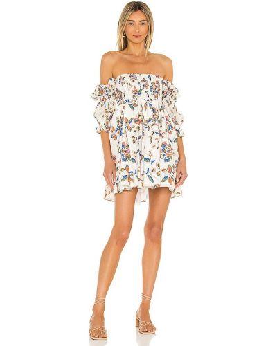 Хлопковое платье - белое Misa Los Angeles