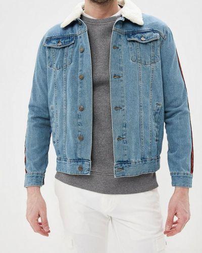 Джинсовая куртка голубая Brave Soul