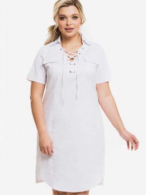 Белое повседневное платье Venusita