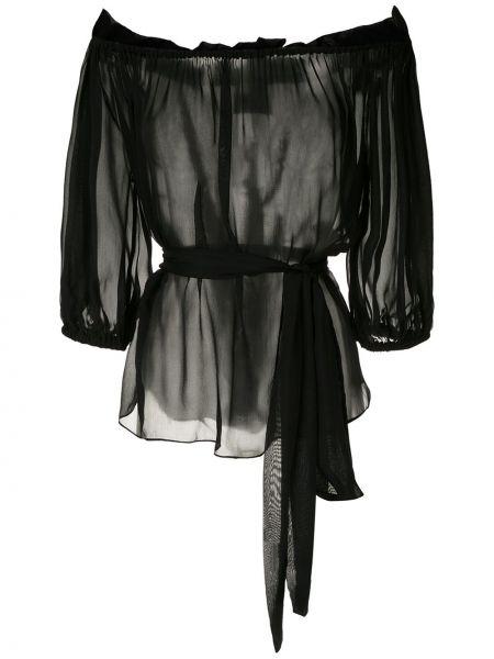 Блузка с рукавом 3/4 с широкими рукавами Andrea Bogosian