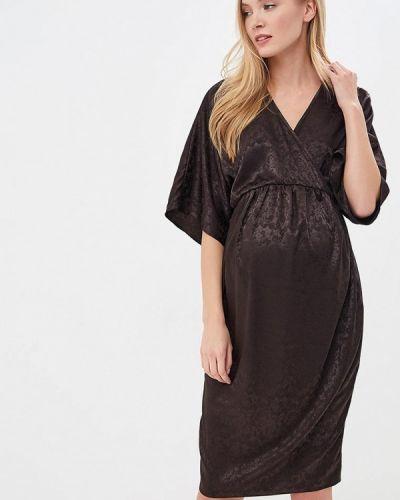 Черное платье осеннее Dorothy Perkins Maternity