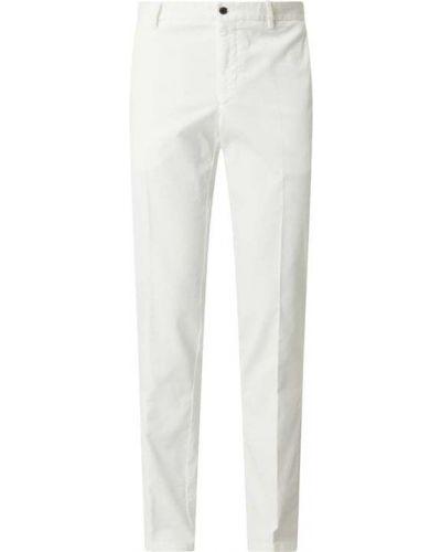 Białe spodnie sztruksowe Tiger Of Sweden