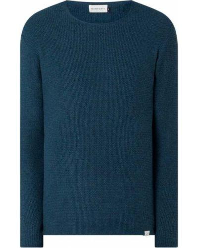 Sweter bawełniany turkusowy Nowadays