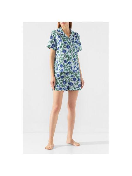 Пижама с цветочным принтом с короткими рукавами Yolke