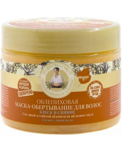 Обертывание для волос рецепты бабушки агафьи