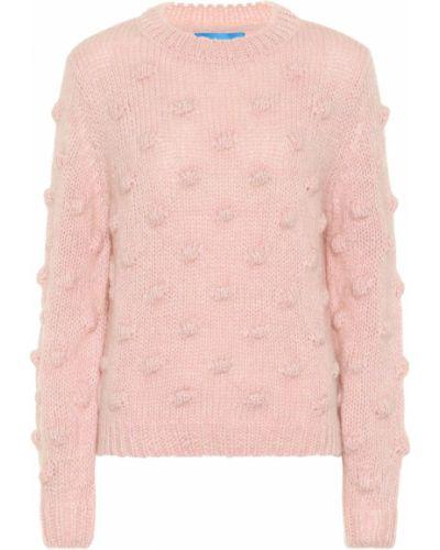 Розовый свитер из мохера Mih Jeans