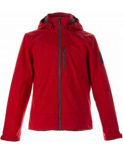 Флисовая куртка - красная Huppa