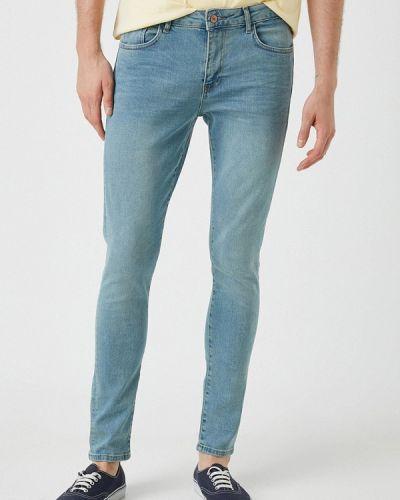 Голубые джинсы осенние Koton