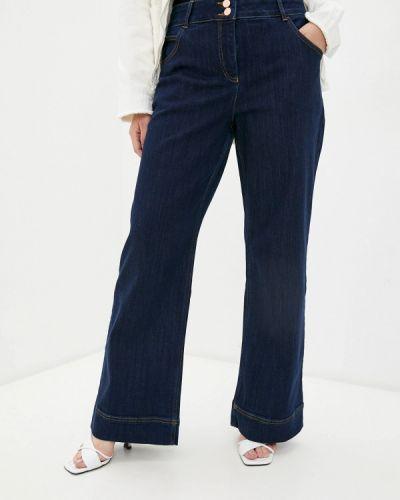 Синие широкие джинсы Madeleine