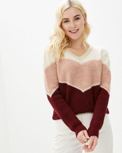 Красный пуловер Naf Naf