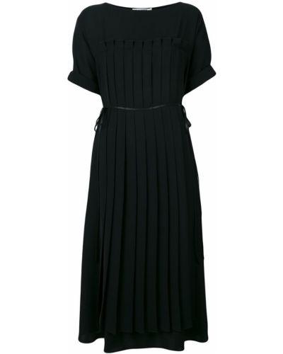 Платье платье-солнце расклешенное Jil Sander