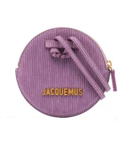 Желтая маленькая сумка металлическая на молнии Jacquemus