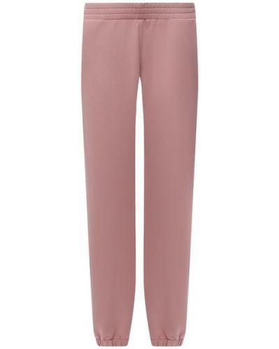 Розовые итальянские брюки Pietro Brunelli