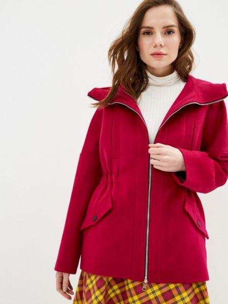 Пальто демисезонное розовое Yukostyle