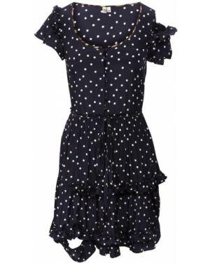 Платье в горошек R13