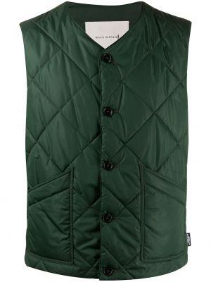 Стеганый жилет - зеленая Mackintosh