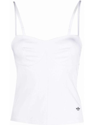 Biały gorset Adidas