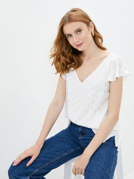 Блузка с коротким рукавом белая весенний Wallis